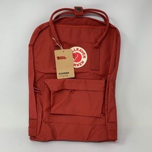 Fjallraven Kanken bag BNIP, ox blood red
